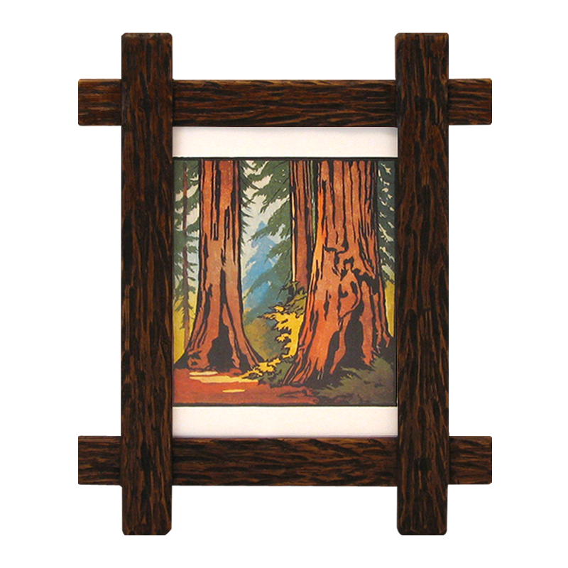 Full Trend Rustic Picture Frames : Rustic Adirondack Style Frame – LJ2332