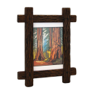 Narrow Lap Joined Wood Frame